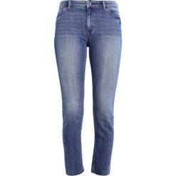 Marc O'Polo DENIM Jeansy Slim Fit dark blue. Niebieskie rurki damskie Marc O'Polo DENIM. W wyprzedaży za 307,30 zł.