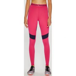 Calvin Klein Performance - Legginsy. Różowe legginsy Calvin Klein Performance, l, z dzianiny. Za 249,90 zł.