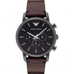 Zegarek EMPORIO ARMANI - Luigi AR1919 Dark Brown/Black. Brązowe zegarki męskie Emporio Armani. Za 1350,00 zł.