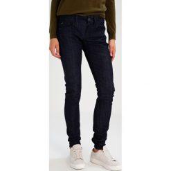 GStar LYNN MID SKINNY Jeans Skinny Fit aiden stretch denim. Niebieskie jeansy damskie marki G-Star. W wyprzedaży za 257,95 zł.