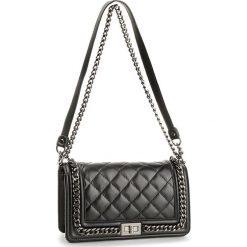 Torebka CREOLE - K10462 Czarny. Czarne torebki klasyczne damskie Creole, ze skóry. Za 329,00 zł.