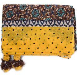 Chusta DESIGUAL - Foul Afro 18WAWW04 6000. Brązowe chusty damskie Desigual, z materiału. Za 149,90 zł.