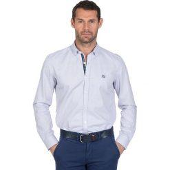 """Koszule męskie na spinki: Koszula """"Best"""" w kolorze białym"""