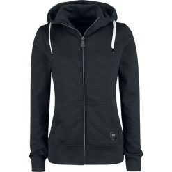 Black Premium by EMP Freaking Out Loud Bluza z kapturem rozpinana damska czarny. Czarne bluzy rozpinane damskie marki Black Premium by EMP, l, z aplikacjami, z kapturem. Za 164,90 zł.