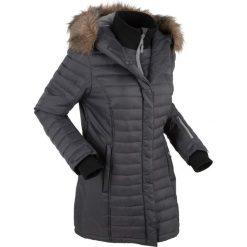 Długa kurtka outdoorowa pikowana bonprix szary łupkowy. Szare kurtki damskie pikowane bonprix, s. Za 299,99 zł.