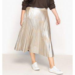 Spódniczki: Spódnica plisowana błyszcząca