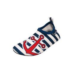 Playshoes  Buty do wody uni marine - niebieski - Gr.Moda (6 - 24 miesięcy ). Niebieskie buciki niemowlęce Playshoes, z materiału. Za 49,00 zł.