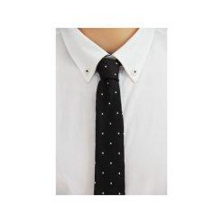 Krawat jedwabny slim #37. Niebieskie krawaty męskie The bow bow ties, z jedwabiu. Za 99,00 zł.
