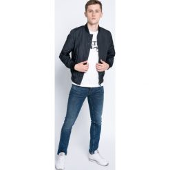 Blend - Jeansy. Brązowe jeansy męskie skinny marki Blend, l, z bawełny, bez kaptura. W wyprzedaży za 149,90 zł.