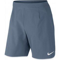 Nike Spodenki Tenisowe M Nkct Flx Short 9in Ace S. Szare spodenki sportowe męskie Nike, sportowe. W wyprzedaży za 169,00 zł.