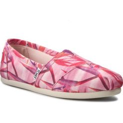 Creepersy damskie: Półbuty TOMS - Classic 10008022 Pink Canvas Birds Of Paradise