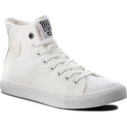 Trampki BIG STAR - BB174316  White. Czarne trampki męskie marki BIG STAR, z gumy. Za 119,00 zł.