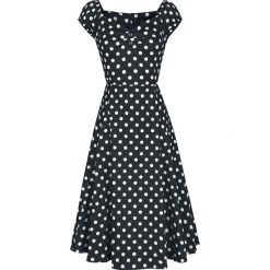 Sukienki balowe: Collectif Clothing Dolores Doll Dress Polka Sukienka czarny