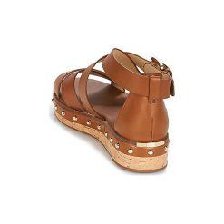Sandały MICHAEL Michael Kors  DARBY. Czarne sandały damskie marki MICHAEL Michael Kors, z gumy, przed kolano, na wysokim obcasie. Za 699,00 zł.