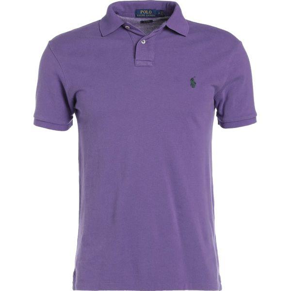 333ccab7d Polo Ralph Lauren WEATHERED SLIM FIT Koszulka polo seville purple ...