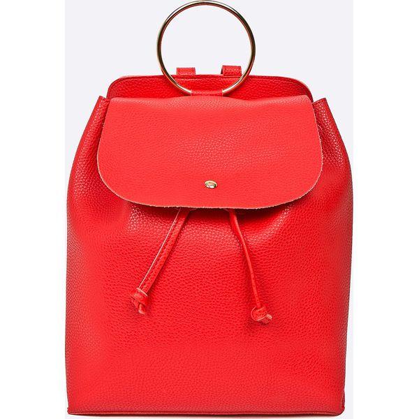 94fcc80085638 Answear - Plecak Stripes Vibes - Czerwone plecaki damskie ANSWEAR ...