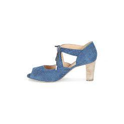 Sandały France Mode  ALOET. Niebieskie sandały damskie France Mode. Za 487,20 zł.
