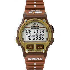 Zegarek Timex Męski T5K842 IronMan Triathlon 8 Lap brązowy. Brązowe zegarki męskie Timex. Za 228,50 zł.
