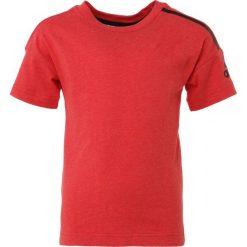 Adidas Performance Tshirt z nadrukiem hirere/black. Czerwone t-shirty chłopięce marki adidas Performance, m. Za 129,00 zł.