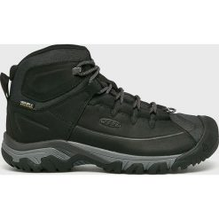 Keen - Buty Targhee. Brązowe buty trekkingowe męskie marki Keen, z materiału, na sznurówki, outdoorowe. Za 559,90 zł.