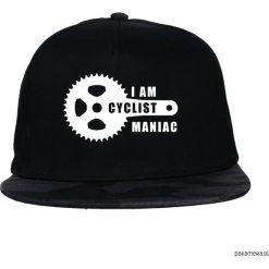 Czapka FullCap Maniac. Czarne czapki z daszkiem damskie Pakamera. Za 69,00 zł.