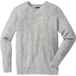Swetry męskie: Sweter Regular Fit bonprix szary melanż