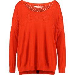 Swetry klasyczne damskie: Gaudi LONG SLEEVE Sweter orangeade