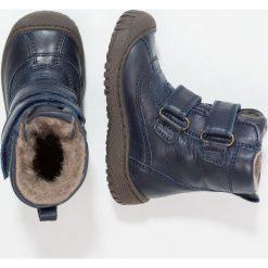 Bisgaard Śniegowce blue. Niebieskie buty zimowe chłopięce Bisgaard, z materiału. W wyprzedaży za 359,20 zł.