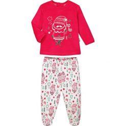 Spodnie niemowlęce: 2-częściowy zestaw w kolorze czerwono-białym