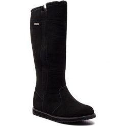 Buty EMU AUSTRALIA - Moonta W11799 Black. Czarne buty zimowe damskie EMU Australia, ze skóry, na niskim obcasie. Za 989,00 zł.