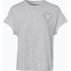 Marc O'Polo Denim - T-shirt damski, szary. Szare t-shirty damskie marki U.S. Polo, l, z aplikacjami, z dzianiny, z okrągłym kołnierzem. Za 159,95 zł.
