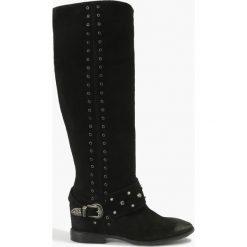 Kozaki czarne Alegra. Czarne buty zimowe damskie Badura. Za 423,99 zł.