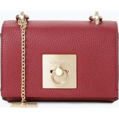 Calvin Klein - Damska torebka na ramię, czerwony. Czerwone torebki klasyczne damskie Calvin Klein, w paski. Za 599,95 zł.