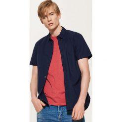 Koszula w mikrowzór - Niebieski. Niebieskie koszule męskie marki QUECHUA, m, z elastanu. Za 79,99 zł.