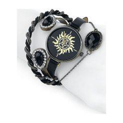 Supernatural Anti Possession Zegarek na rękę czarny. Czarne zegarki damskie Supernatural, ze stali. Za 144,90 zł.