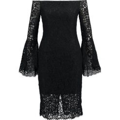 Sukienki hiszpanki: Bardot SOLANGE DRESS Sukienka koktajlowa black