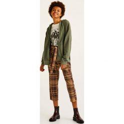 Bluzy damskie: Bluza basic z suwakiem