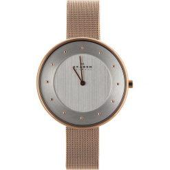 Zegarek SKAGEN - Gitte SKW2142 Rose Gold/Rose Gold. Czerwone zegarki damskie Skagen. W wyprzedaży za 499,00 zł.