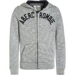 Abercrombie & Fitch CORE Bluza rozpinana light grey. Szare bluzy chłopięce rozpinane Abercrombie & Fitch, z bawełny. W wyprzedaży za 125,30 zł.