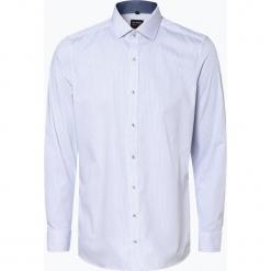 Olymp Level Five - Koszula męska łatwa w prasowaniu, niebieski. Niebieskie koszule męskie non-iron marki OLYMP Level Five, m, paisley, ze stójką. Za 149,95 zł.