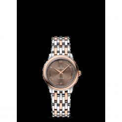 ZEGAREK OMEGA De Ville 424.20.27.60.13.001. Czarne zegarki damskie marki KALENJI, ze stali. Za 17500,00 zł.