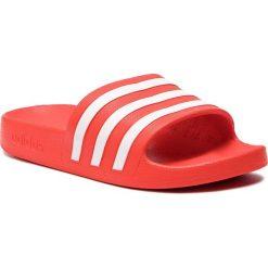 Klapki adidas - adilette Aqua  F35540 Actred/Ftwwht/Actred. Czerwone klapki męskie Adidas, z tworzywa sztucznego. Za 79,95 zł.