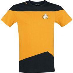 T-shirty męskie z nadrukiem: Star Trek Yellow Uniform T-Shirt żółty