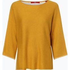 S.Oliver Casual - Sweter damski, żółty. Żółte swetry klasyczne damskie s.Oliver Casual, l. Za 199,95 zł.