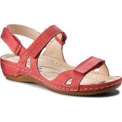 Rzymianki damskie: Sandały HELIOS – 205 Czerwony