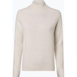 Marie Lund - Damski sweter z wełny merino, beżowy. Brązowe swetry klasyczne damskie Marie Lund, l, z dzianiny. Za 249,95 zł.