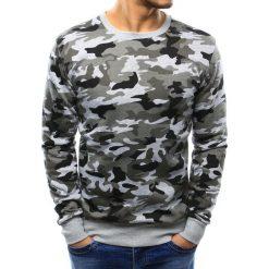 Bluzy męskie: Bluza męska camo bez kaptura szara (bx3364)