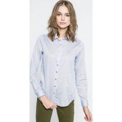 U.S. Polo - Koszula. Szare koszule wiązane damskie U.S. Polo, s, z bawełny, casualowe, polo, z długim rękawem. W wyprzedaży za 199,90 zł.