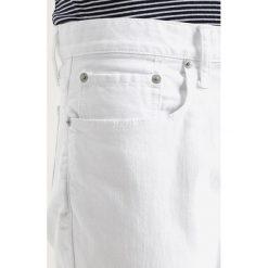 GAP SLIM OPTIC  Jeansy Slim Fit white denim. Białe rurki męskie GAP. Za 269,00 zł.