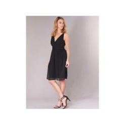 Sukienki krótkie Vero Moda  VMJOSEPHINE. Czarne sukienki hiszpanki Vero Moda, l, z krótkim rękawem, mini. Za 95,20 zł.